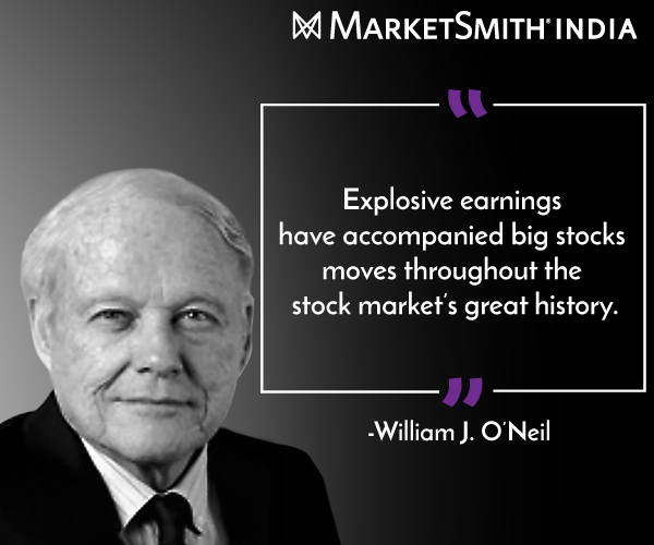 My Recent Stock Quotes: Investment Legend William O'Neil On Stock Market